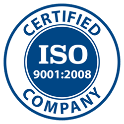 ISO 2008 registered company